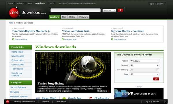 Situs Download Com Mungkin Merupakan Situs Download Terbesar Mempunyai Berbagai Koleksi Software Untuk Windows Mac Mobile Dan Webware